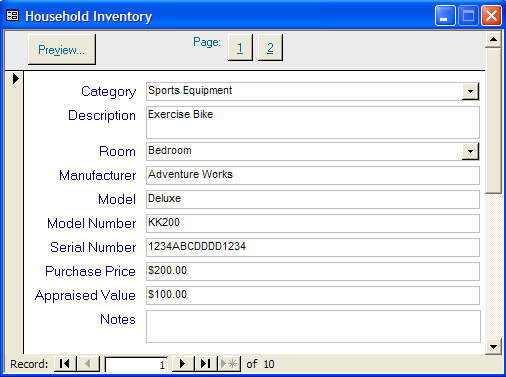 Access Templates Inventory. Easialy Navigate Through Relevant ...