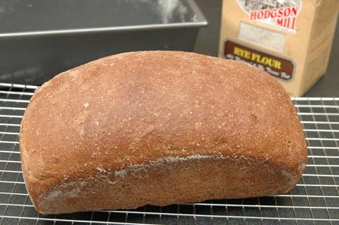 Pumpernickel bread