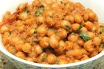 Chick peas curry